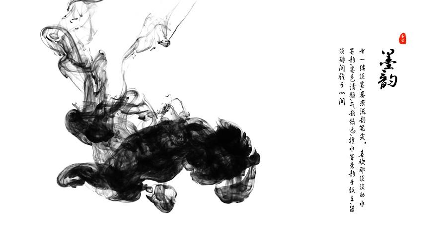 墨韵-中国古风动态演示模板|ppt/演示|平面|azurab图片