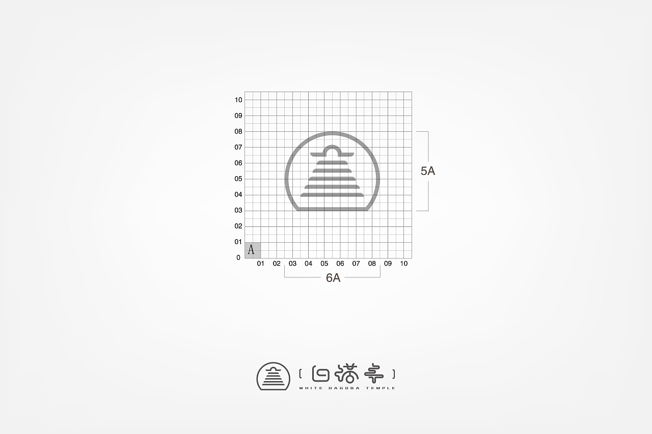 白塔寺项目logo参赛作品