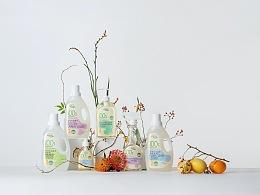 家庭清洁产品图片策划 Green Kultural X Leapway