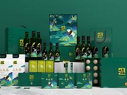 天府一丘田-橄榄油品牌包装形象升级
