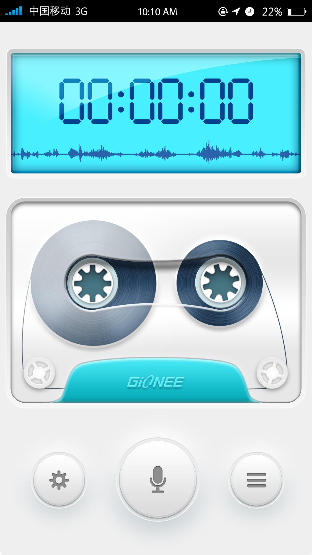 金立手机--录音机图片