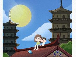 《小乐成长记》之中秋节——泉州东西塔+燕尾脊