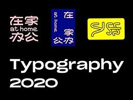 2020 Typography & Logo