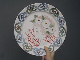 陶艺创作,釉下彩瓷的绘制过程