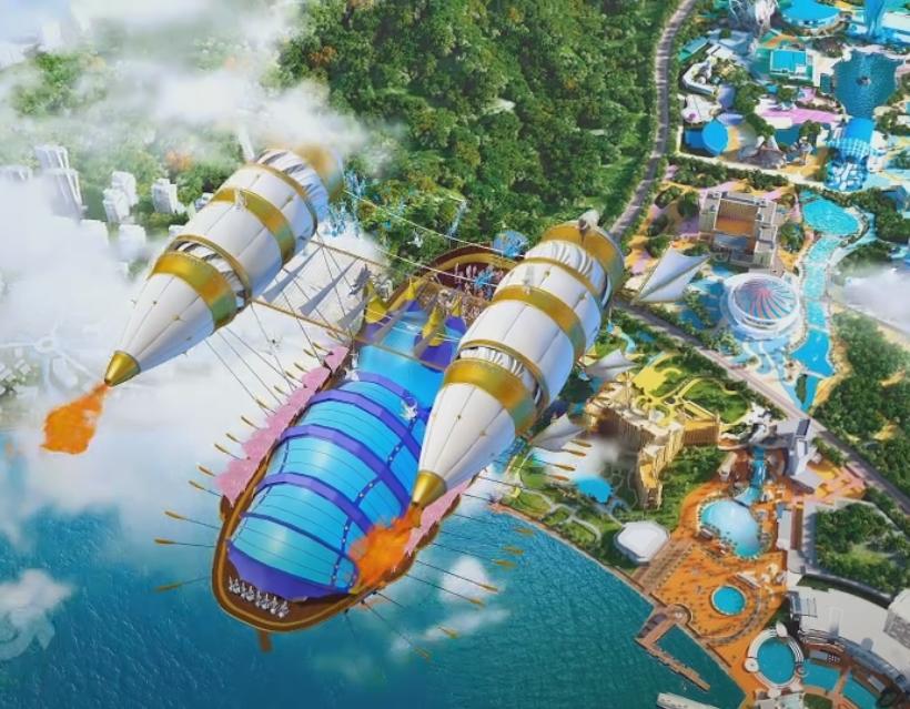 2015年之作品《第二届珠海横琴长隆国际马戏城》- 绚石影视特效图片