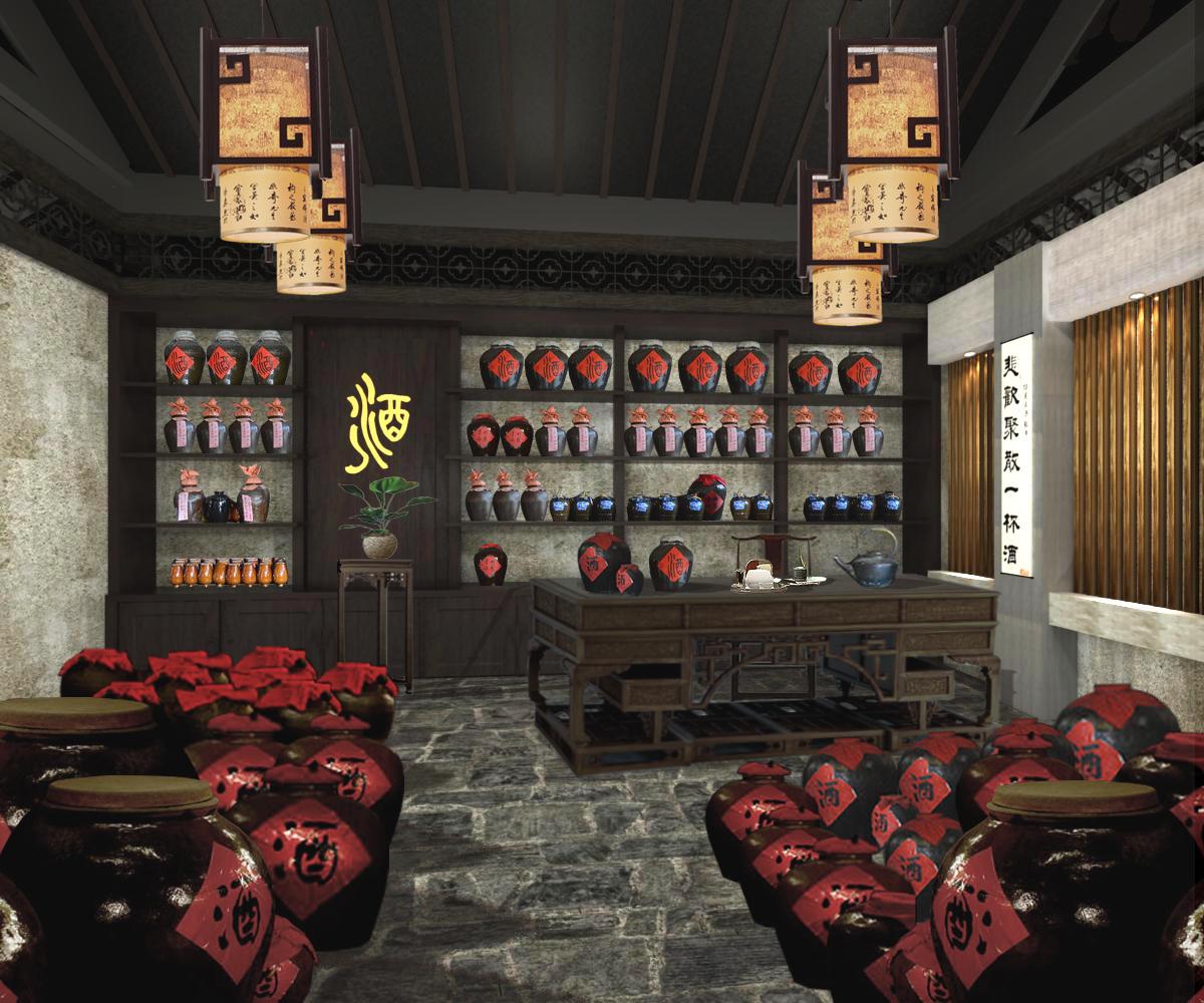 酒厂_古代酒厂设计
