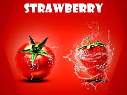 水果类海报