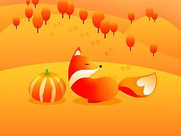 秋-(每日一画)