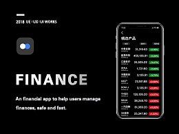 """一款概念金融理财App-""""双元金融"""""""
