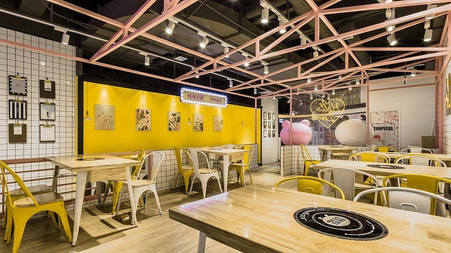 异国料理店 · 餐饮空间设计_哆米夫妇 陕西榆林店