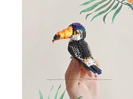 MARD拼豆原创-鹦鹉&巨嘴鸟