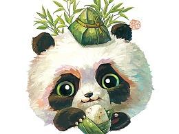 【粽子节】端午熊猫