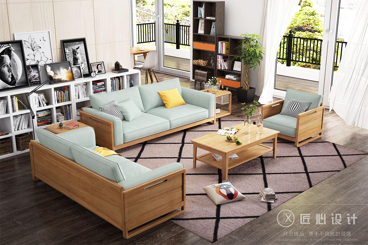北欧沙发——家具效果图设计图片