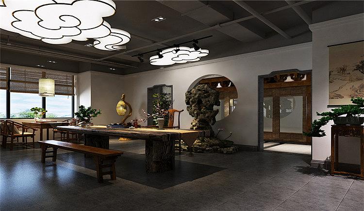 峨眉山空间设计装修效果图-四川1769装饰|玻璃|室内茶楼水外包装设计图图片
