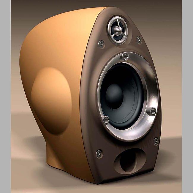 复古音箱设计|工业/产品|生活用品|深圳白狐工业设计图片