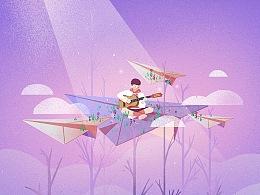 儿童音乐培训海报设计