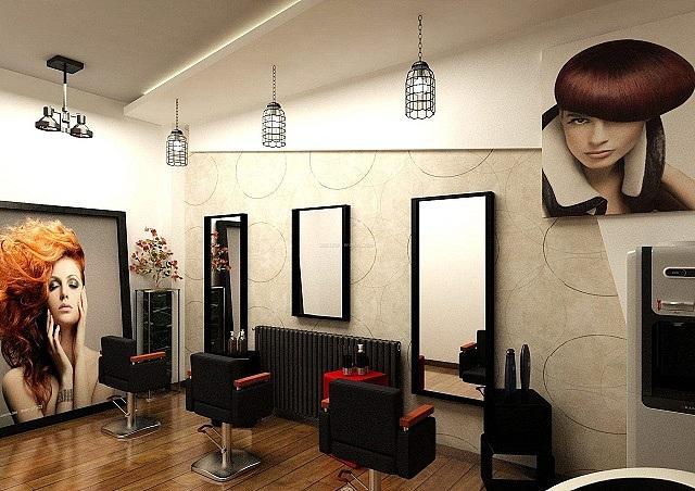 成都理发店装修设计「卓巧」成都小面积理发店如何装修