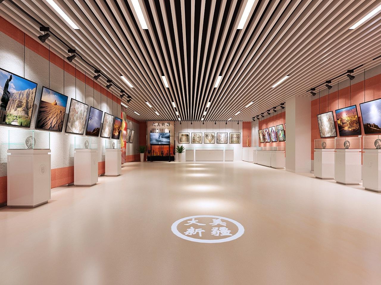 大美新疆-校园展示|空间|展示设计 |李姗珊 - 原创图片
