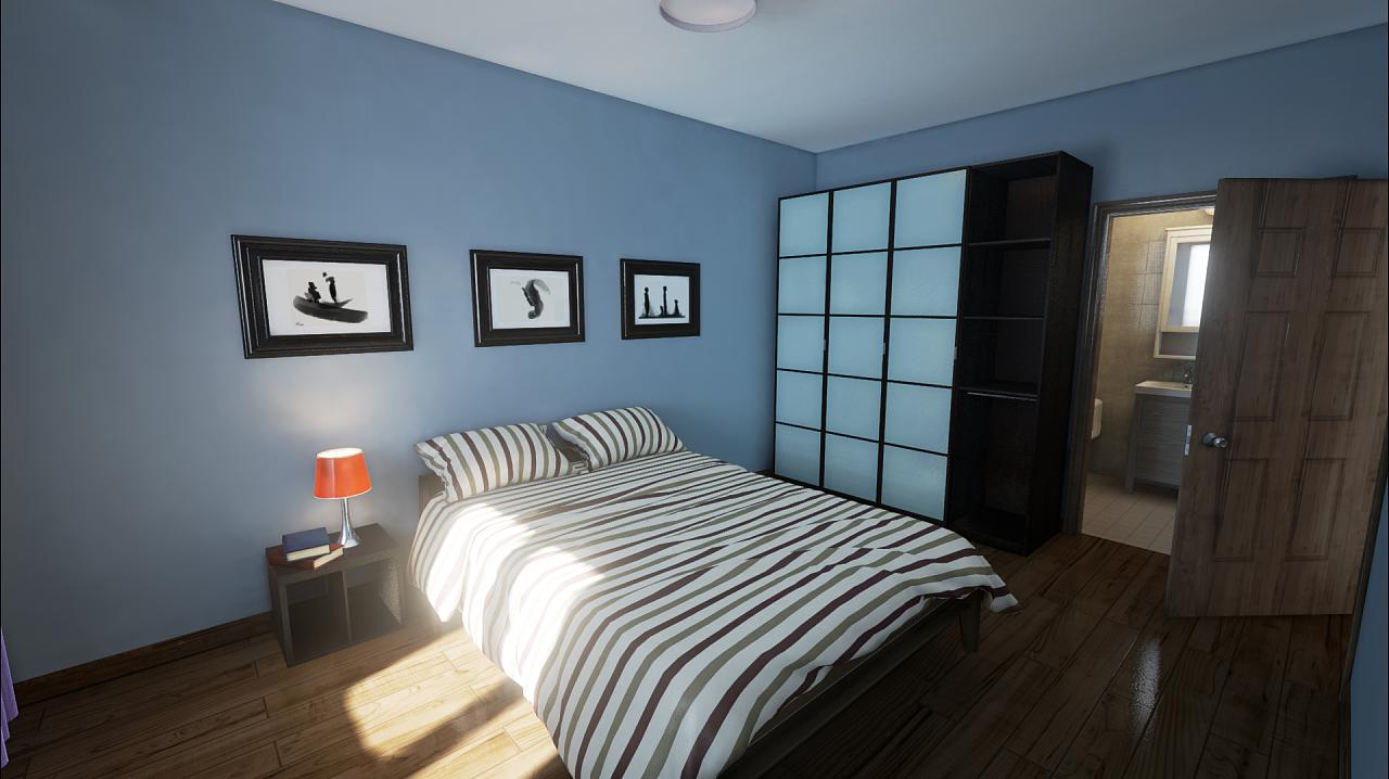 ue4 室内虚拟展示图片