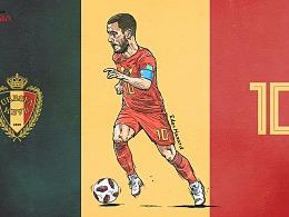 2018年俄罗斯世界杯球星——阿扎尔