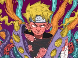 LINLIN DESIGN-Black naruto