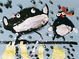 站酷x博洛尼亚插画展【成长吧,画画的梦想】儿童绘画征集优秀作品展示