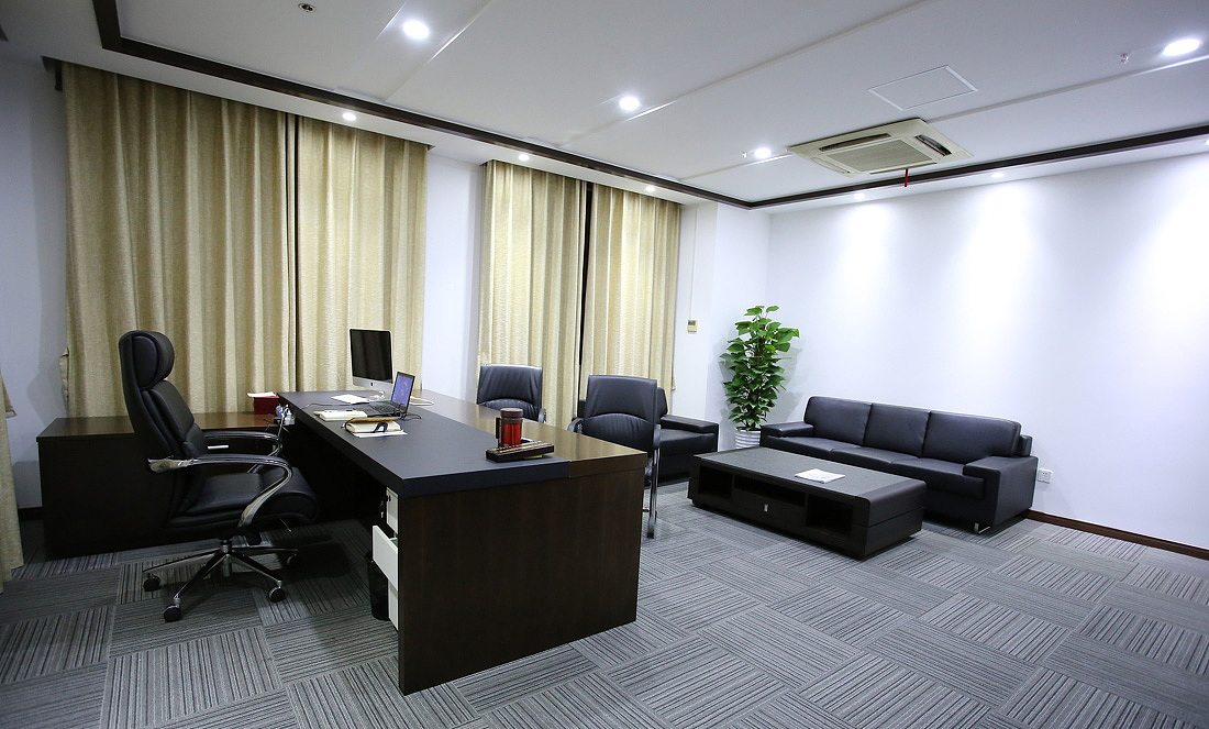 loft风格办公室装修设计效果图/成都办公室装修公司