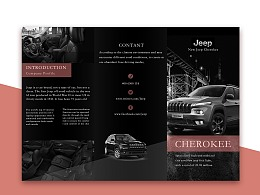 Jeep三折页