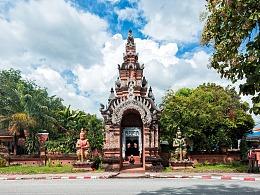 建筑摄影丨古建筑 & 泰国罗摩利寺