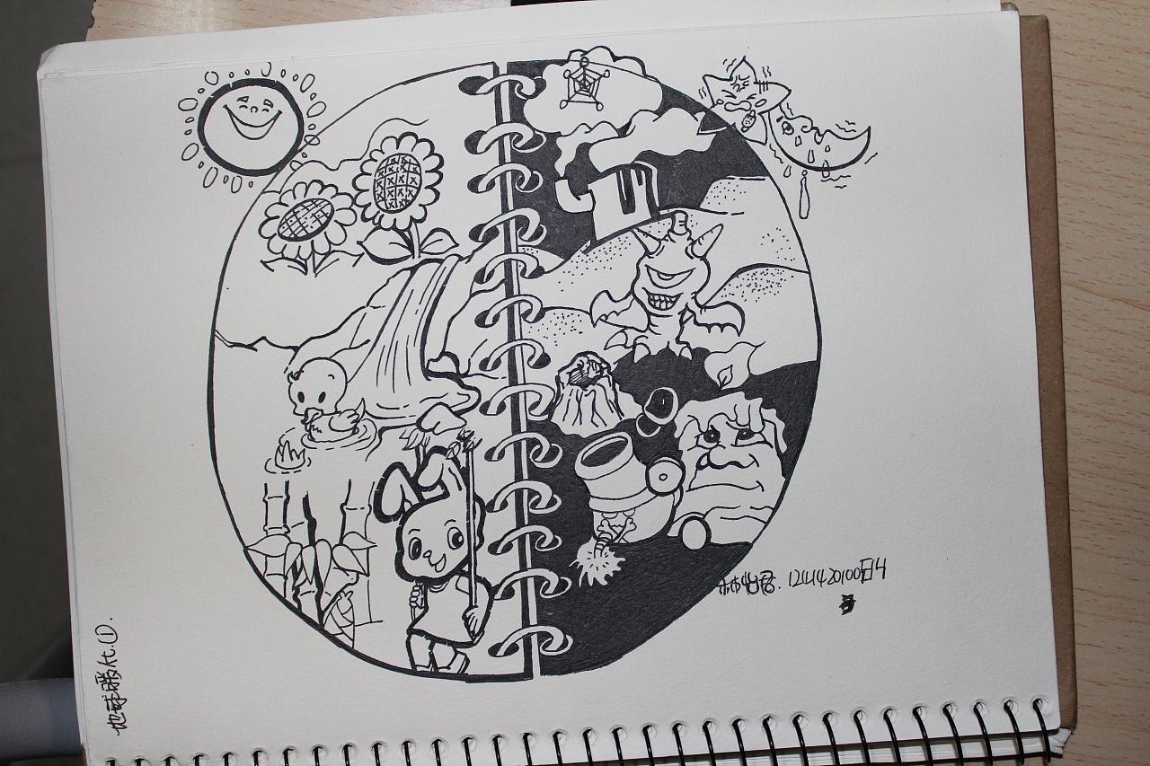 过去的一些简单手绘|插画|其他插画|xao小箱 - 原创