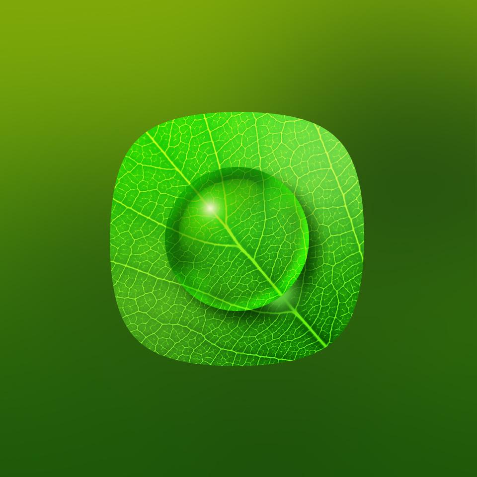 背景 壁纸 绿色 绿叶 设计 矢量 矢量图 树叶 素材 植物 桌面 960_960图片