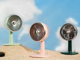 炎炎夏天你的桌面需要一台颜值风扇丨复古风扇