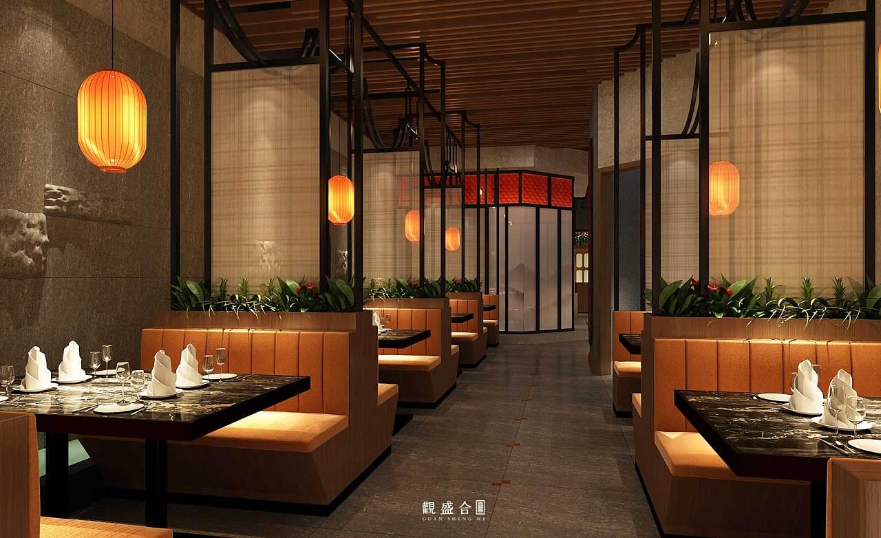 《鼎厨》中餐厅设计 | 观盛合设计