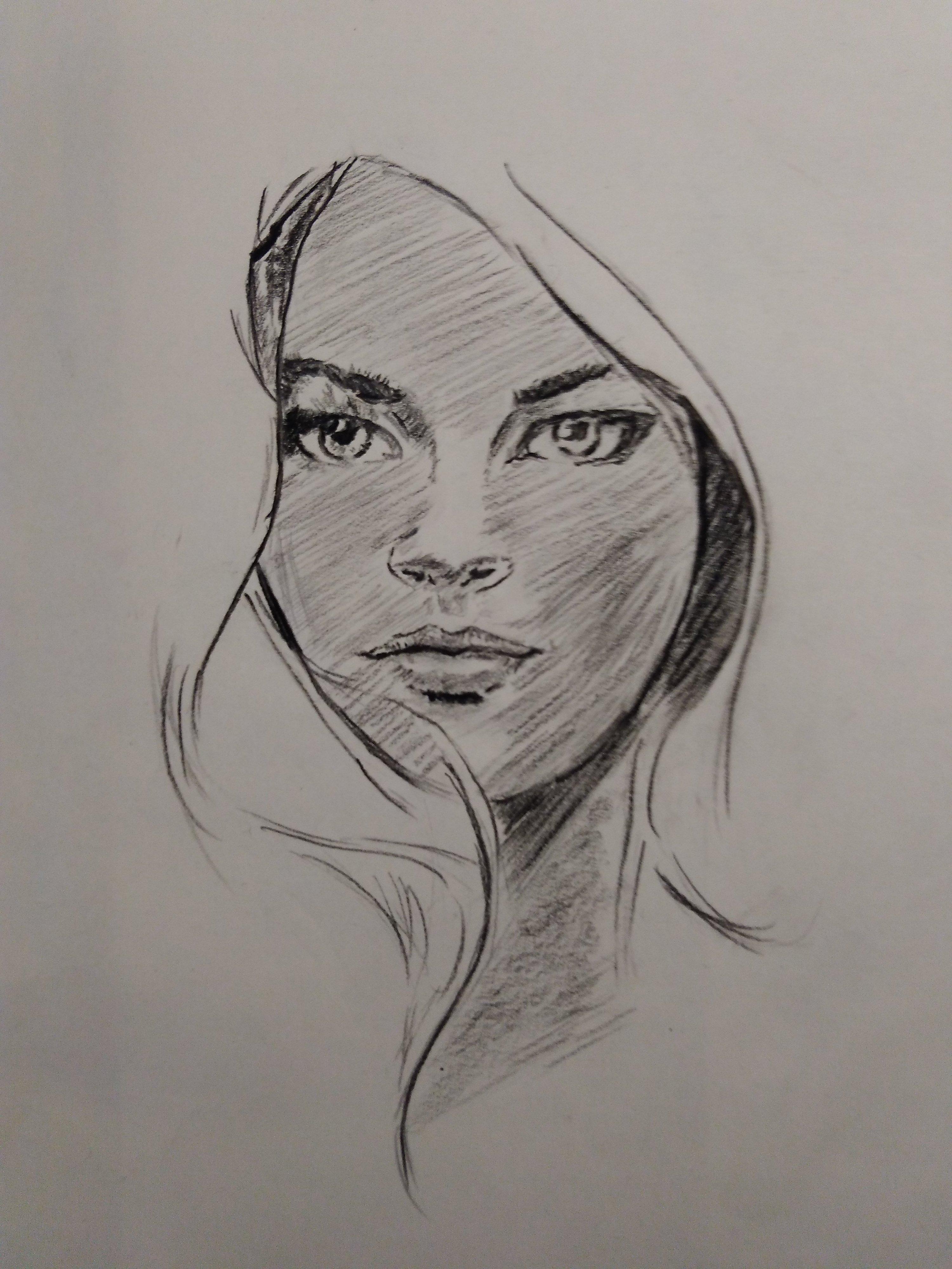 简单的人物手绘