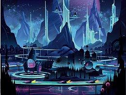 Space Park - 临摹