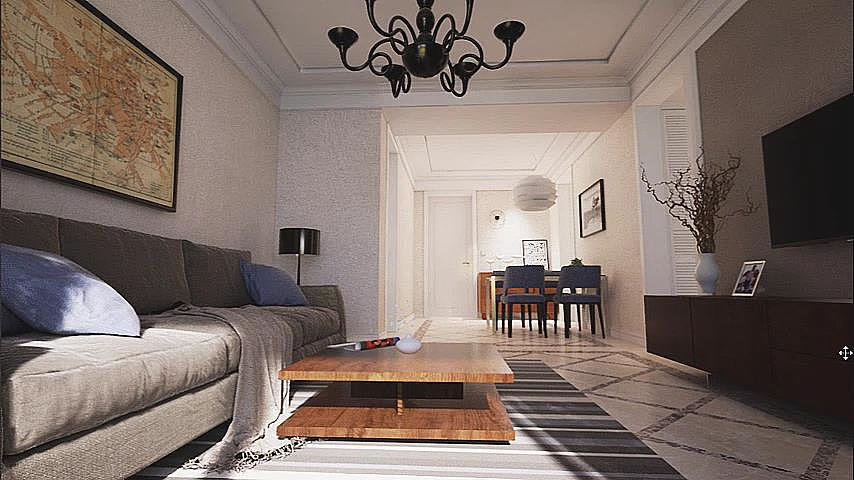 ue4 - little house 练习|空间|室内设计|iwmi - 原创图片