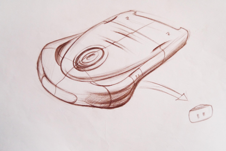 【设计手绘】彩铅手绘效果图|工