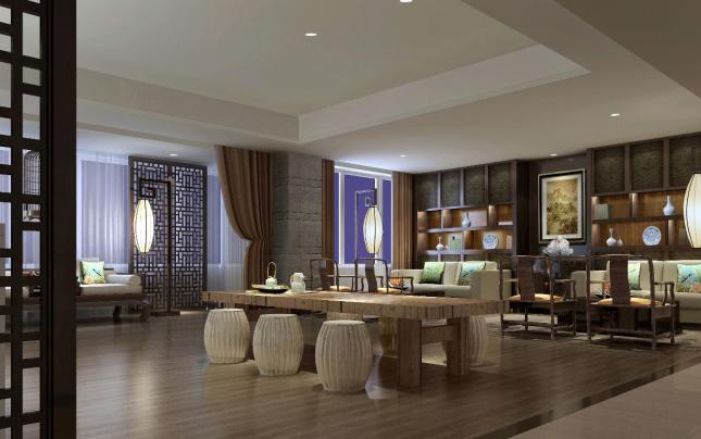 金尊足浴会所装修设计-定西足浴设计公司|室内设计