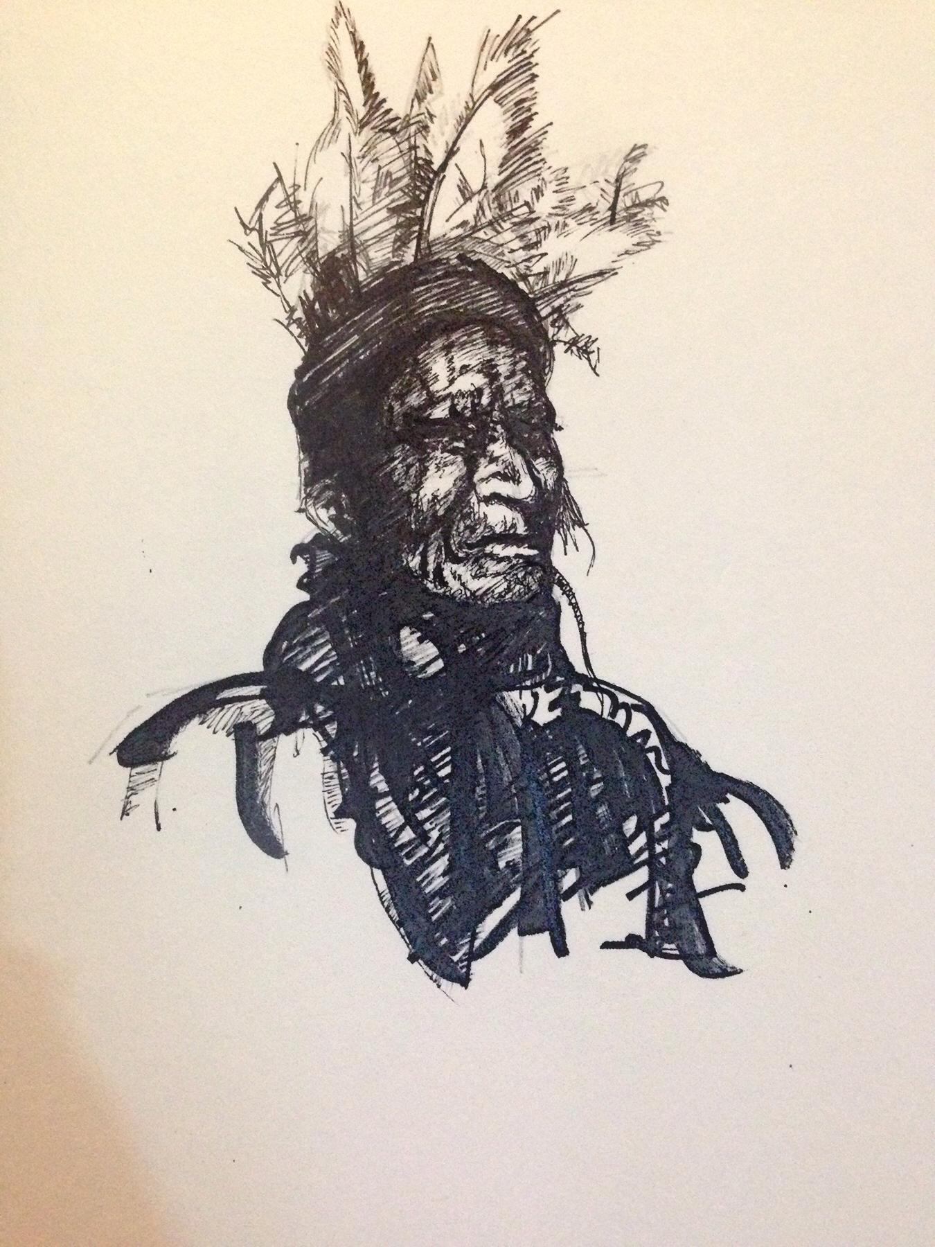 印第安老人