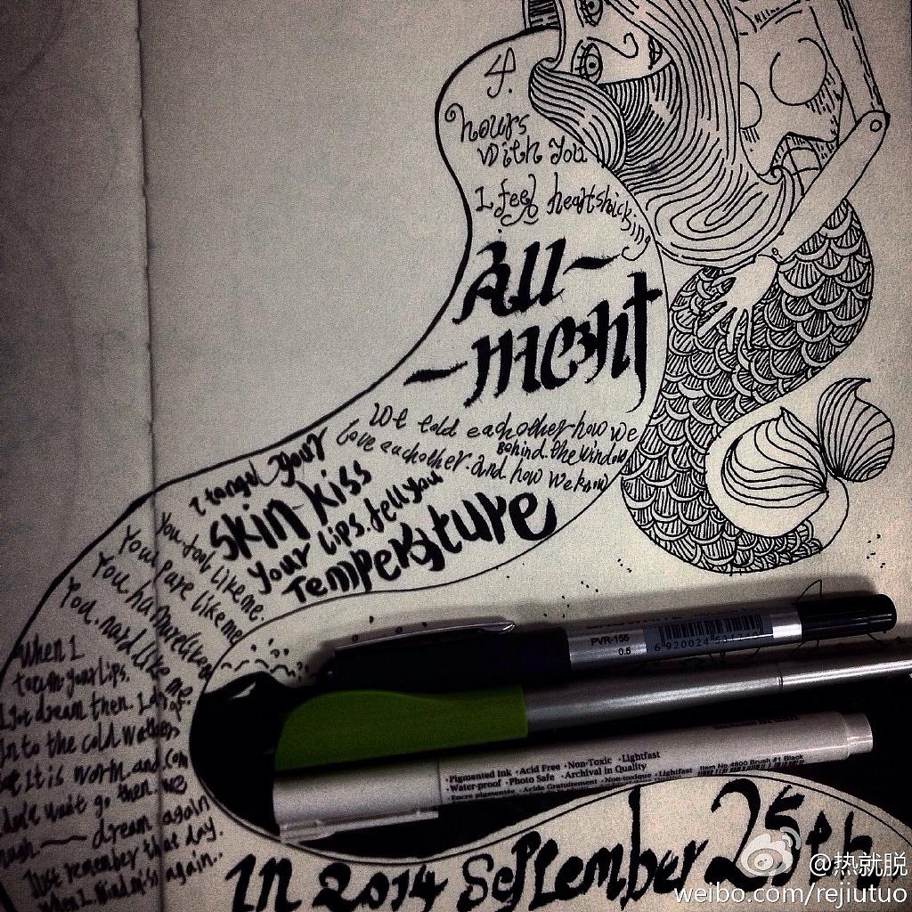 手绘插图|插画|涂鸦/潮流|pkzdsf - 原创作品 - 站酷