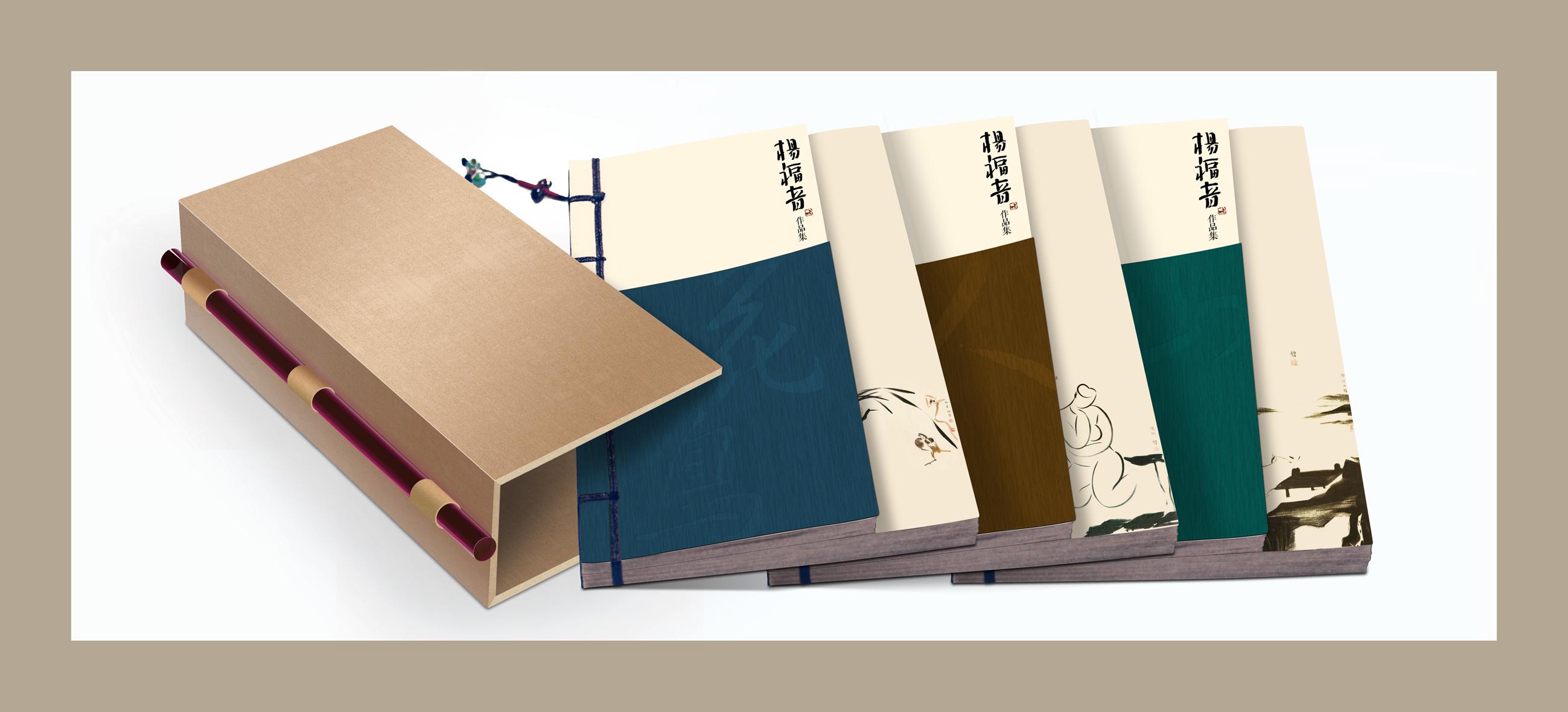 杨福音书籍封面及包装设计图片