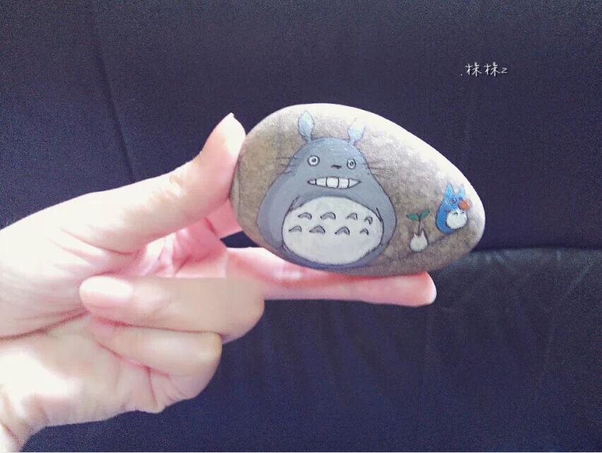 龙猫小石头.图片