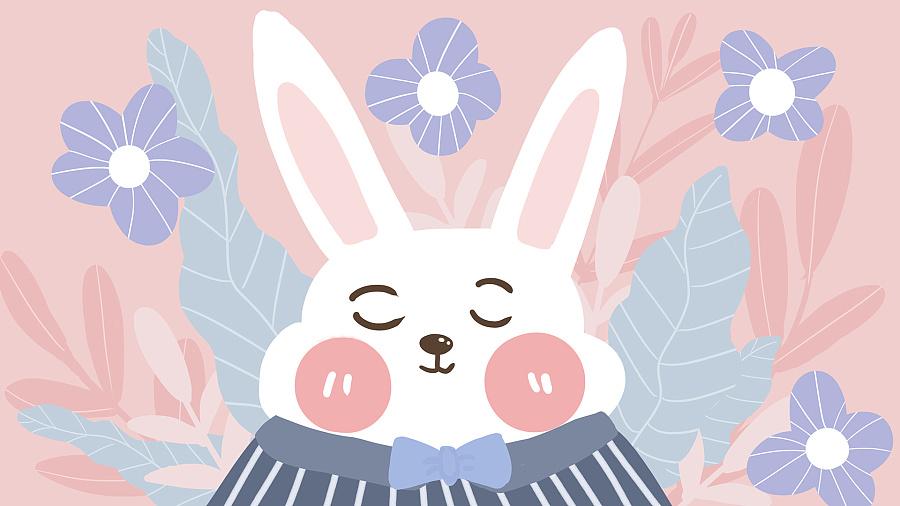 萌宠物系列手绘插画作品