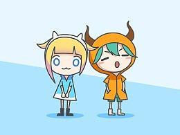 牛哔的对话 APP 吉祥物提案