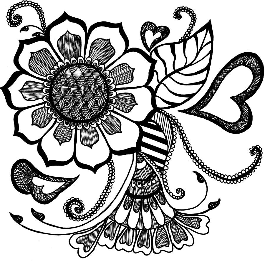 手绘花卉变形_花卉变形|图形/图案|平面|Kareninesn - 原创设计作品 - 站酷 (ZCOOL)