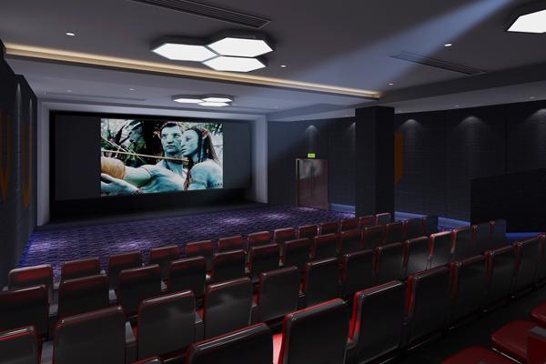 手机电影院-成都电影院装修粉红色墙纸壁纸爱上图片