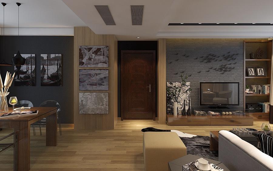 CH空间湾-后现代|室内设计|道路/建筑|B_tadpo连云区墟沟主要翡翠绘制图片