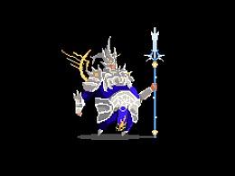 斗战神系列像素画——神将