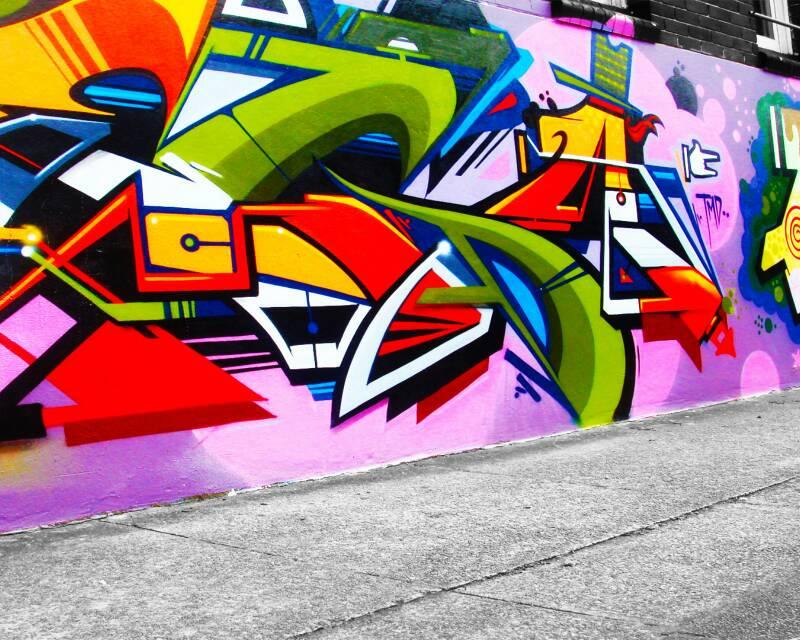 涂鸦墙绘 涂鸦字体 手绘涂鸦墙