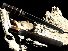 炼锋手作-东周样瓦槽短剑